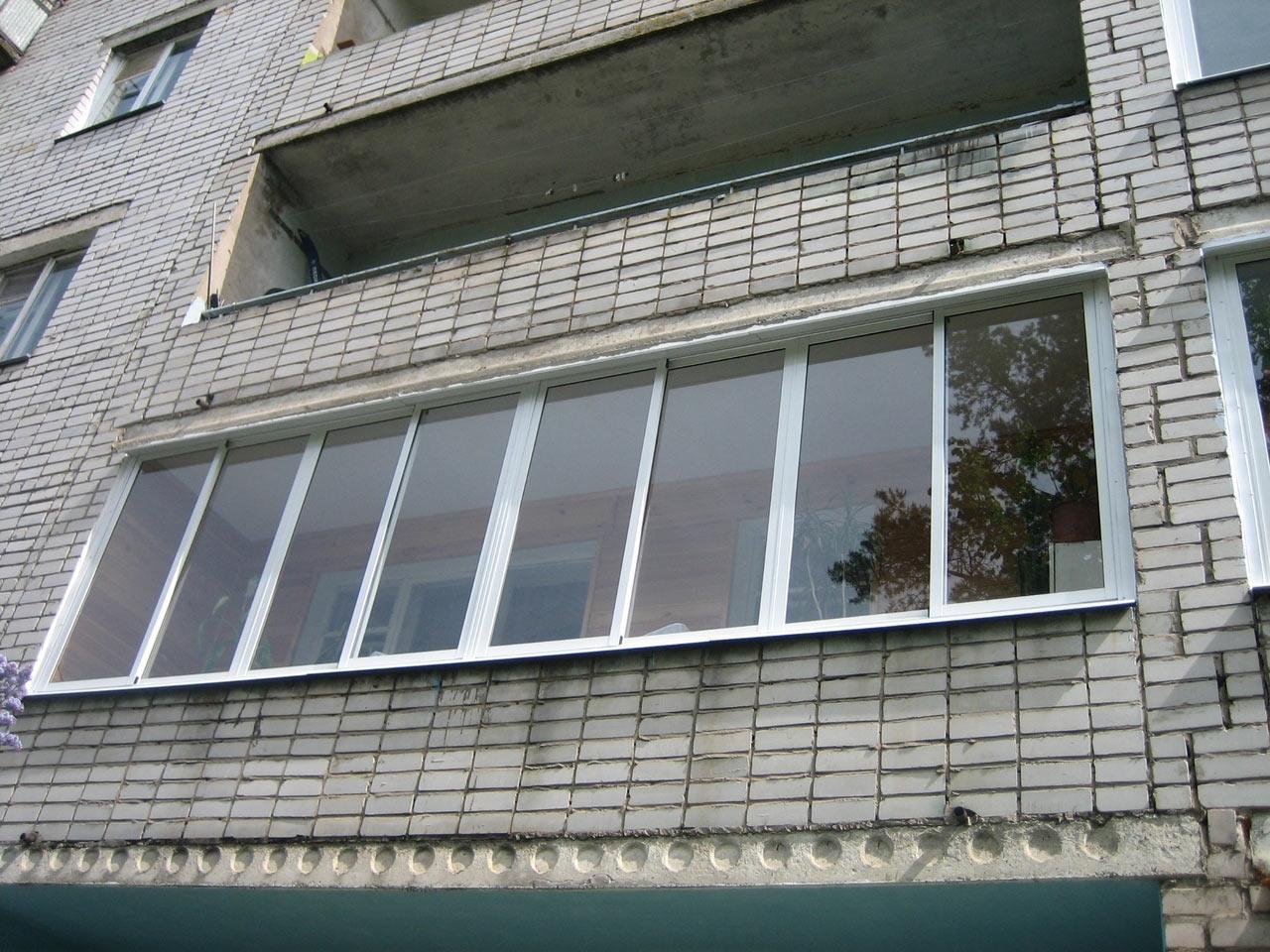 Остекление балконов, лоджий в красноярске - альфастрой.