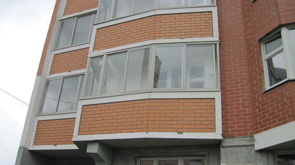 Застеклить балкон п 44т однокомнатная цена.
